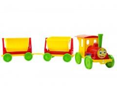 Поїзд з 2 причепа конструктор