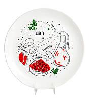 Тарелка «Схема еды»