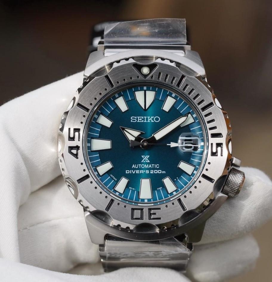 Часы Seiko Prospex SZSC005 Diver's 6R15 Green Monster Limited Edition