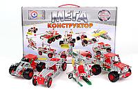 Металлический конструктор Мега универсал 381 деталь, КОД: 118358