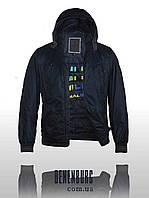 Мужская куртка Malidinu MC 15036 2H темно-синяя