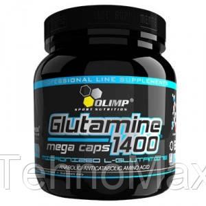 OLIMP Глютамин L-Glutamine Mega Caps 1400 (300 caps), фото 2
