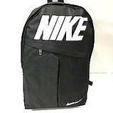 Рюкзаки спортивні текстиль Nike (чорний)30*43см, фото 3
