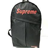 Рюкзаки спортивні текстиль Nike (чорний)30*43см, фото 4