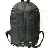 Рюкзаки спортивні текстиль Nike (чорний)30*43см, фото 6