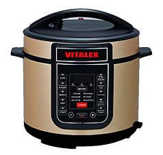 Мультиварка VITALEX VT-5202 Золотистая