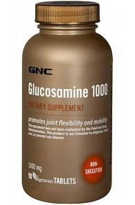 GNC Глюкозамин Glucosamine Sulfate 500 (90 caps), фото 2