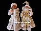 Новогодние Пара Дед Мороз 30см и Снегурочка 30см (танцующие и поющие), фото 8