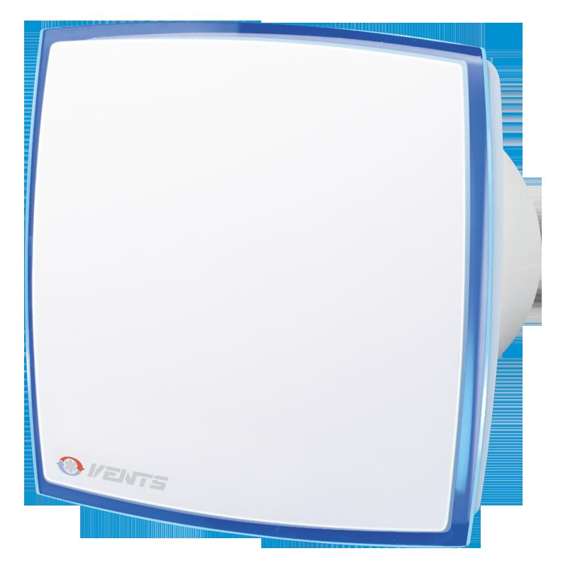 Вентилятор побутовий Вентс 100 ЛД Лайт синій