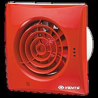 Вентилятор бытовой Вентс 125 Квайт красный RAL 3013