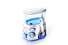 Ирригатор полости рта для дополнительной очистки зубов WaterPulse v300 Голубой