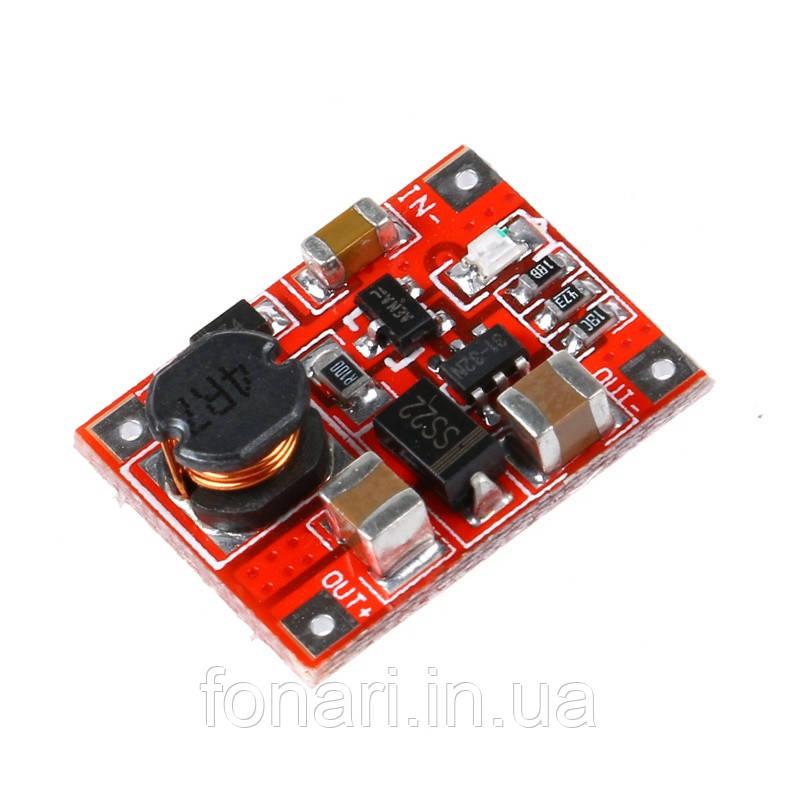 Повышающий модуль 3V – 5V, 1A для зарядки USB устройств