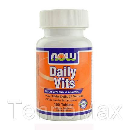 Витамины Daily Vits (100 tab), фото 2