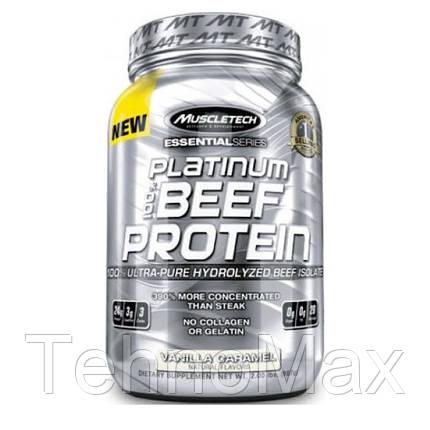Протеин говяжий Platinum 100% BEEF Protein (1,91 kg ), фото 2