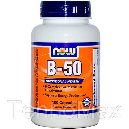 Витамин Б B-50 (250 veg caps), фото 2