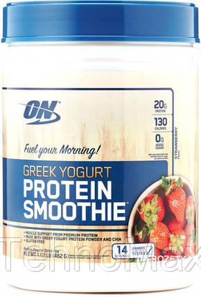 Optimum NutritionПротеинGreek Yogurt Protein Smoothe462 g, фото 2