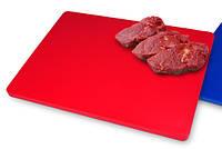 Доска разделочная пластик красная 500*400*20 мм , Resto Line Испания