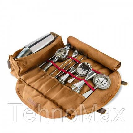 Кожаный чехол для барного инвентаря (без инвентаря) Lumian, фото 2