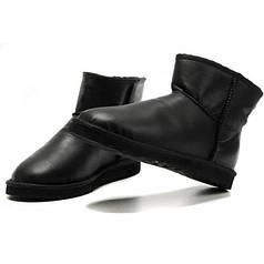 Угги UGG Classic Mini Metallic 39 Black (j8ycwu)