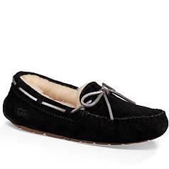 Мокасины UGG Dacota Suede 40 Black (hp562g)
