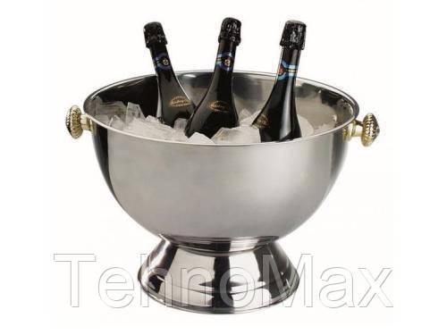 Чаша для шампанского 20 л., 42х30 cм. из нержавеющей стали APS, фото 2
