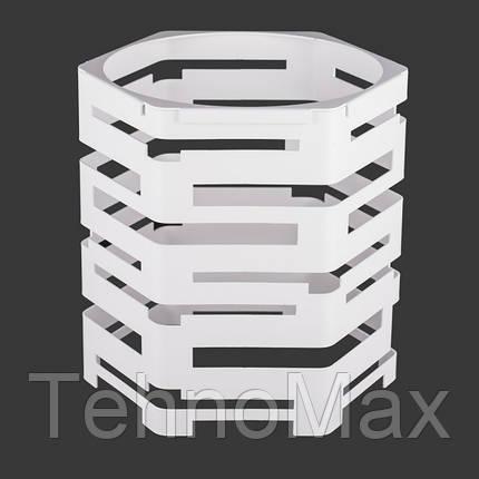 Фуршетная база шестигранник d30хh30 белая, фото 2
