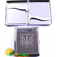 Портсигар Украина (10 сиг) AL206A