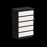 Комод для вещей Эверест Микс-1 Венге + Белый (Ev-2000)