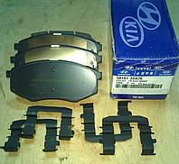 Колодки тормозные передние Hyundai Tucson, ix20, ix35, Sonata
