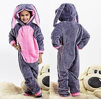 Махровая тёплая детская пижама
