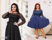 Женское нарядное платье  д411642 (50-56), фото 1