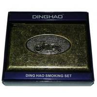 Портсигар с зажигалкой на 20 сигарет №3305
