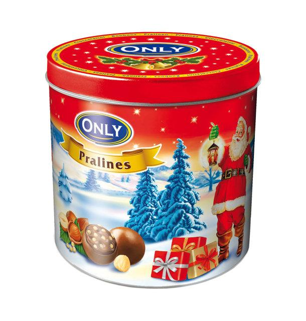 Шоколад Only Pralines With Hazelnut Cream & Cereals Filling 200 g
