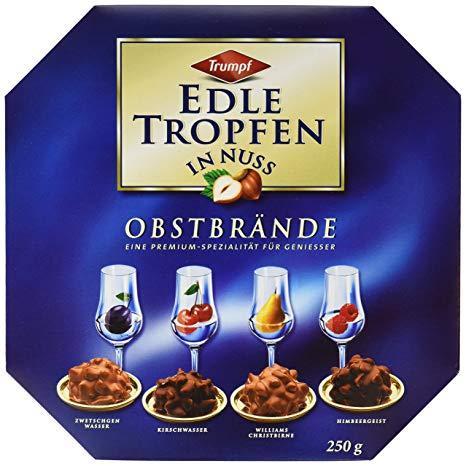 Конфеты Trumpf Edle Tropfen in Nuss, Obstbrnde, 3er Pack (3 x 250 g)
