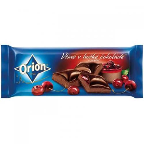 Шоколад Nestle Orion visne v horke cokolade (вишня в горьком шоколаде) 240 g