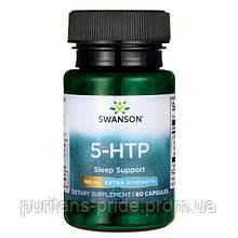 Антидепрессант, 5-гидрокситриптофан, Swanson, 5-HTP 50 мг 60 капс
