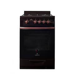 Газовая плита Greta 1470-00-17 Черный (ФР-00019693)