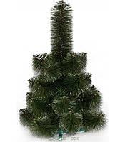 Искусственная сосна 0,7 м, темная, светлый кончик, новогодняя сосна елка