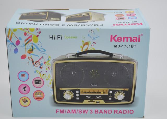 Радиоприёмник ретро Kemai MD-1701 BT