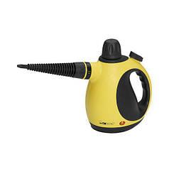 Пароочиститель отпариватель ручной 1050W CLATRONIC DR 3653 Черный с желтым (ФР-00018102)