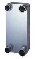 Паяный пластинчатый теплообменник Swep B50