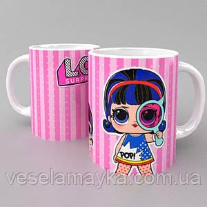Чашка LOL Surprise 3 (кукла ЛОЛ)