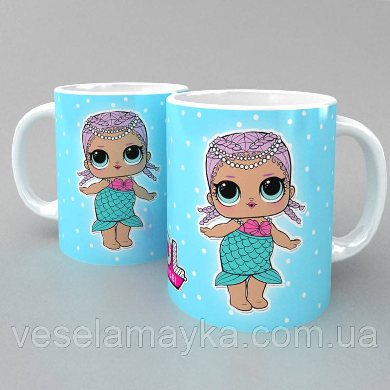 Чашка LOL Surprise 4 (кукла ЛОЛ)