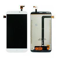 Дисплей (экран) для Doogee X30 с сенсором (тачскрином) белый Оригинал
