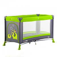 Манеж детский CARRELLO Solo CRL-11701 Lime Green (003585)