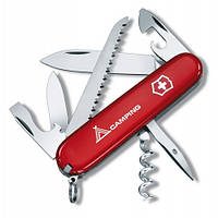 Victorinox Викторинокс нож Camper 13 предметов 91 мм красный нейлон логотип