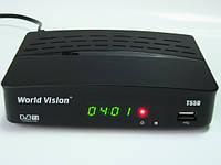 Эфирный цифровой тюнер World Vision T55D Dolby Digital
