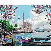 """Картины по номерам 40x50 """"Турецкое побережье"""" КНО2166"""