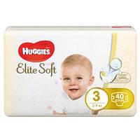"""Підгузки Huggies Elite Soft """" 3 (5-9 кг) 40 шт."""