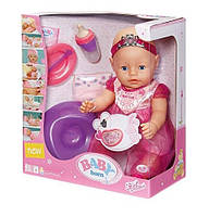 Оригинал. Интерактивный пупс Принцесса Bobas Baby Born Zapf Creation 819180
